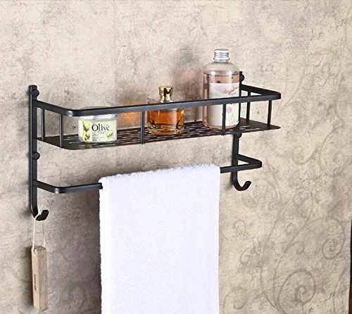 Rozin Bathroom Wall Mounted Storage Shelf Oil Rubbed Bronze Cosmetic Holder Jfgjdshg