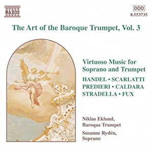The Art Of Baroque Trumpet: Vol.3 by Naxos