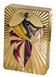 #7: Churchill's Gold Art Deco (Arabella) Tin with Chocolate Chunk and Hazelnut Biscuits 300 g