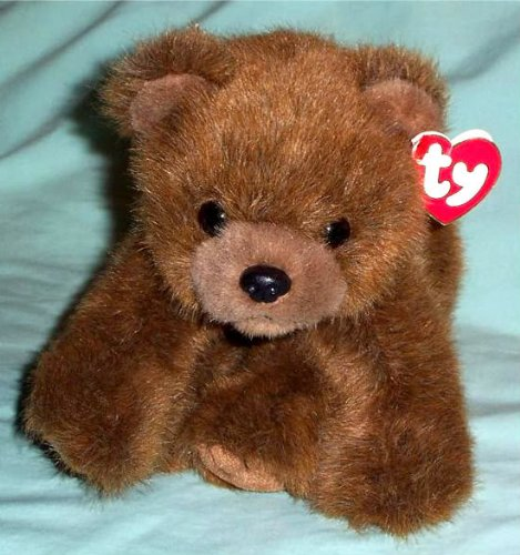 TY Classic Plush - FOREST the Bear (Brown Version)