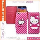 [HELLO KITTY Face Body ハローキティ キティ 手帳型 ケース] iphone 5S SE iphone 6/6S iphone 6plus/6Splus iphone7 iphone 7plus (kitty Body) (【iphone 7plus】, ホットピンク) [並行輸入品]