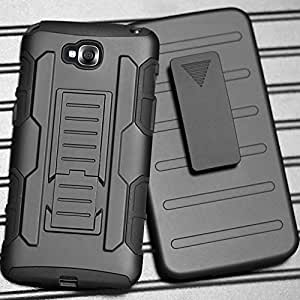 LG G Pro Lite Case, [Victorlan] G Pro Lite Robot Case, Future Armor Rugged Hybrid Protective Cover Case For LG G Pro Lite D680 D684 D685 D686 with Belt Clip & Kickstand
