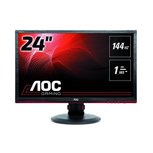 AOC G2460PF 24-Inch Free Sync Gaming LED Monitor, Full HD (1920 x 1080), 144hz, 1ms