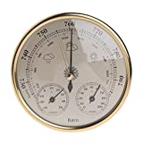 FAIYIWO Mounted Wall Household Barometer Thermometer Hygrometer Weather Station Hanging FAIYIWO Like The Picture, Size : 1 (Color: Like the picture, Tamaño: 1)
