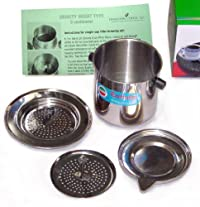 Vietnamese Traditional Coffee Phin Filter 8 Ounce, Gravity Insert