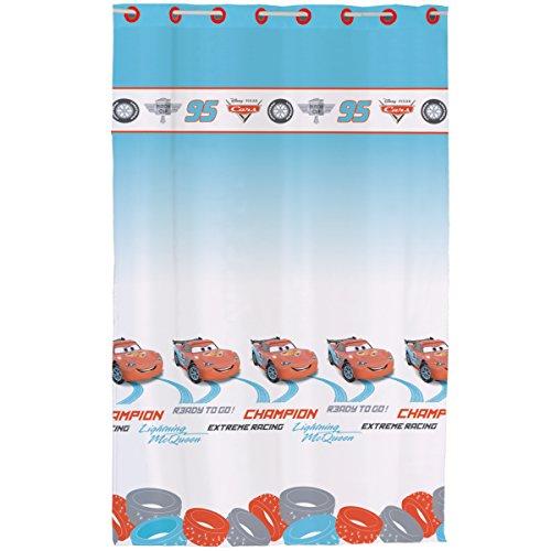 Disney Cars Tapete G?nstig : Cars 042797 Fertig-Gardine Ice Racer Polyester 140 x 240 cm