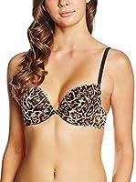 JUST CAVALLI Sujetador de Bikini (Leopardo)