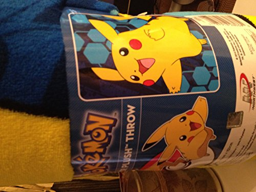 Big Save! Pokemon Super Plush Throw