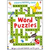 Word Puzzles (Usborne Puzzle Cards)by Sarah Khan