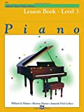 Alfred's Basic Piano Library Lesson Book, Bk. 3