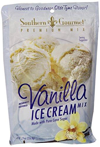Southern Gourmet Ice Cream Mix, Vanilla, 8 Ounce