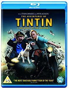 The Adventures of Tintin: The Secret Of The Unicorn [Blu-ray] [Region Free]