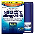 Nasacort Nasal Allergy Spray, 360 Sprays Total, Three 120 Spray Dispensers, 0.57 Fluid Ounces Each