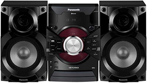 Panasonic MAX DJ Jukebox Sound System SC-AKX18 (Black) Bluetooth and USB Music Play, Smartphone Control (Panasonic Home Stereo System compare prices)