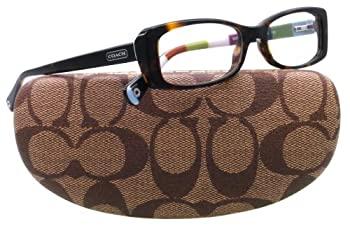 Coach Eyeglasses HC 6011 5001 HAVANA GABRIEL 49MM