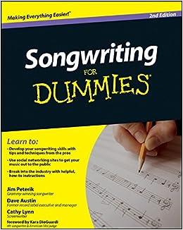 How to write better lyrics book