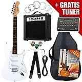 Rocktile ST-Pack Komplettset E-Gitarre Weiss