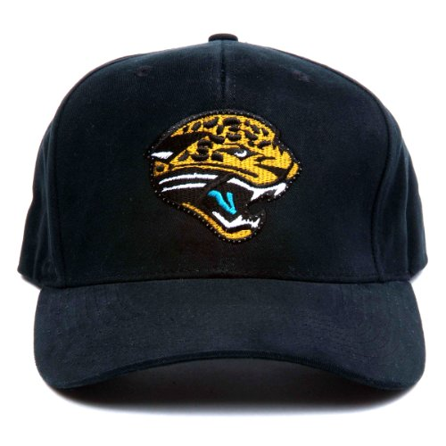 Nfl Jacksonville Jaguars Led Light-Up Logo Adjustable Hat