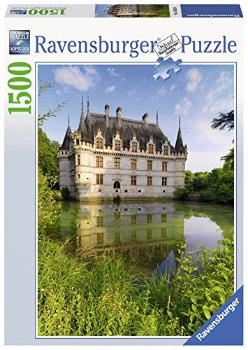 Ravensburger 16325 - Castello di Azay-Le-Rideau: Loira Puzzle, 1500 Pezzi