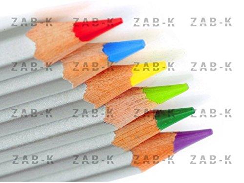 ZAB-K-Art-Colored-Pencils-Premium-Set-of-48-Drawing-Pencils-Multi-Color