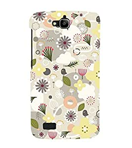 Flower Pond Pink 3D Hard Polycarbonate Designer Back Case Cover for Huawei Honor Holly :: Honor Holly