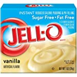 Jello Instant Vanilla Pudding mix SUG...