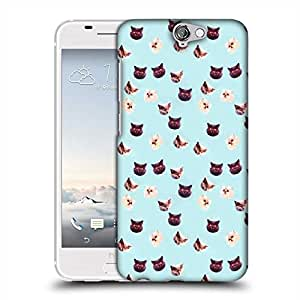 Snoogg Hypno cats Designer Protective Back Case Cover For HTC one A9
