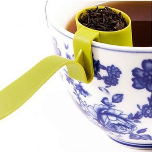 Creative Cute Cup Edge Tea Strainers Filter