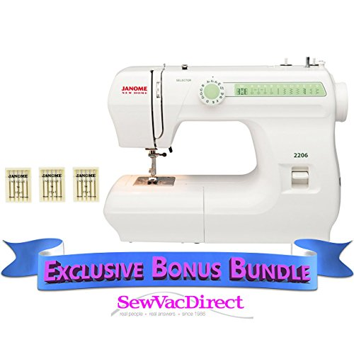 Janome 2206 Sewing Machine with Bundle