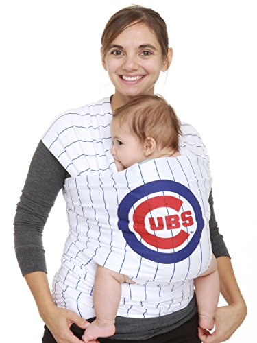 Moby Wrap Mlb Edition Baby Carrier, Chicage Cubs Stripe front-945372