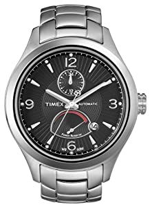 Timex Mans Automatic Watch T-Series ALL Stainless Steel T2M976
