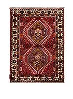 RugSense Alfombra Persian Shiraz Rojo/Multicolor 155 x 110 cm