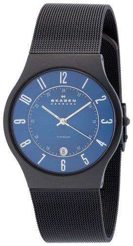 SKAGEN (スカーゲン) 腕時計 basic titanium mens T233XLTMN ケース幅: 37mm メンズ [正規輸入品]