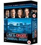 Law And Order Criminal Intent - The 1st Year - Import Zone 2 UK (anglais uniquement) [Import anglais]
