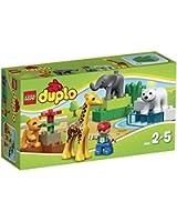 Duplo - 4962 - Jeu de construction premier âge - Le zoo des bébés animaux