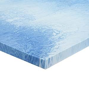 Gel Memory Foam Mattress Topper Size King Amazon