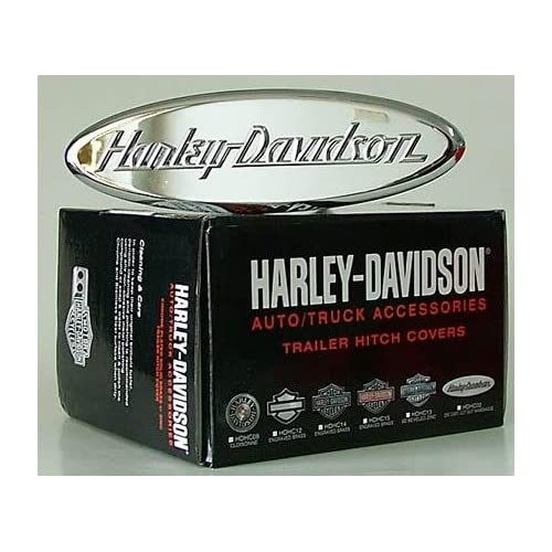 Harley Davidson Premium Hitch Cover   Oval