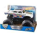 Hot Wheels Monster Jam Avenger White, Multi Color