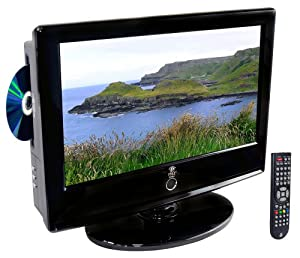 Pyle Home PTC166LD 15.6-Inch LCD HDTV with Built-In DVD Player