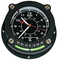 Weems & Plath Nautilus Collection Waterproof Quartz Clock with Inclinometer