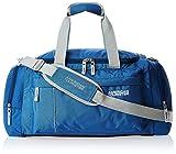 #9: American Tourister Nylon 55 cms Blue Travel Duffle (40X (0) 01 008)