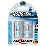 Ansmann ANSC4500MaxE C 4500mAh Rechargeable Batteries Carded 2