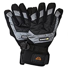 Gordini Sector Glove Men's Black/Gun Metal Large