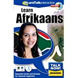 Talk Now Learn Afrikaans: Essential Words and Phrases for Absolute Beginners (PC/Mac)by EuroTalk Limited
