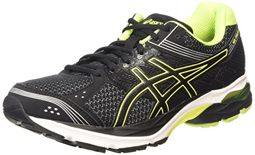 ASICS Gel-pulse 7 - Scarpe Running Uomo, Nero (black/flash Yellow/silver 9007), 45 EU
