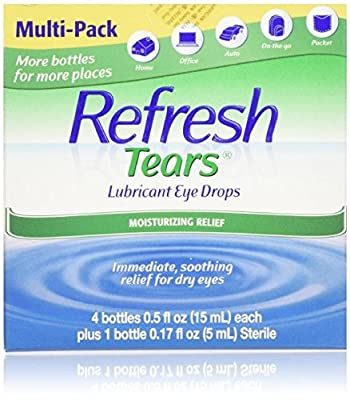 Refresh Tears Lubricant Eye Drops, Moisture Drops for Dry Eyes