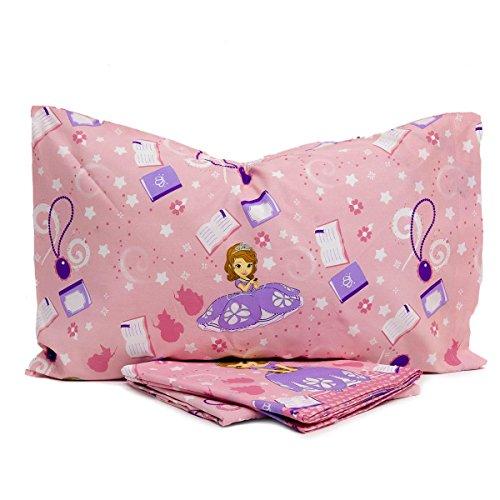 Completo lenzuola Sofia Principessa Disney cotone Singolo una piazza N496