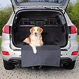 Protection pour coffre de voiture pour chien avec tablier antidérapant-Convient pour la plupart des voitures...