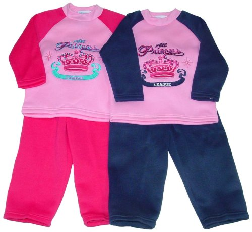 "Buy Little Girls' Fleece Outfit with ""All Princess"" Embroidery"