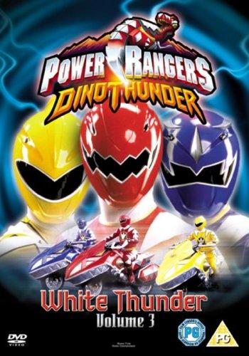 Power Rangers Dino Thunder: White Thunder [DVD]
